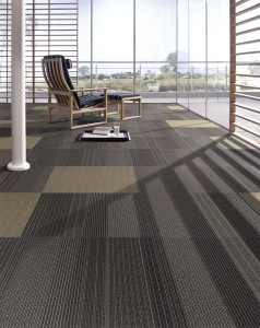 Boardroom carpet tiles